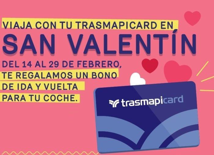 Trasmapicard: Promoción San Valentín